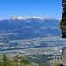 bei der Wanderung hinauf zum Rappenstein hat man immer die beste Aussicht übers Rheintal und die Alvierkette