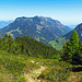 Blick hinüber zum Alpspitz und bis zu den Drei Schwestern