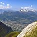 """Blick vom Rappenstein hinüber zur """"Alvierkette"""""""