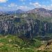 Blickrichtung Vorarlberg mit Augstenberg und Silberhorn