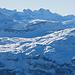 Blick zum Clariden und Schärhorn mit Pfannenstock im Vordergrund