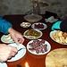 Salame di cervo, cipolle, olive schiacciate (grazie alla Frank's Mother!)