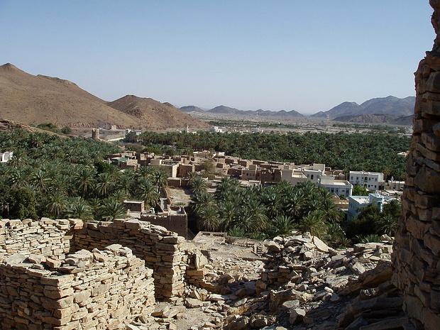 Blick über al Hamra