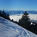 Bei großen Neuschneemengen ist in der Traverse Vorsicht geboten.