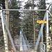 über die Brücke ausgangs Choleregrabe ...