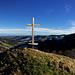 Aussicht vom Gipfel der Hirsegg.