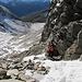 Im Aufstieg zum Passo del Laghetto
