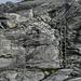 Die Leiter, welche die Querung des Gletscherschliffs erleichtert