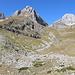 Im Abstieg zwischen Zeleni vir und Dobri do - Rückblick über das Urdeni do.