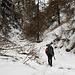 risalendo il caratteristico Canyon di Silvaplana