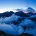 Morgendliche Wolkenstimmung (Panoramaaufnahme)