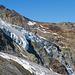Ein Detail vom Gletscher