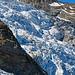 Ein Detail der Eismassen