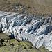 Schön gescheibeltes Eis unterhalb der Bordierhütte