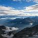 Gipfelblick vom Gross Bigerhorn in Richtung Simplongebiet