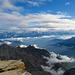Gipfelblick vom Gross Bigerhorn in Richtung Norden