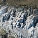 Detail aus dem Gletschereis