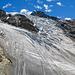 Panorama Riedgletscher beim Abstieg von der Hütte
