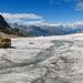 Schmelzwasserbach auf dem Gletscher