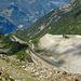 Gletschermoräne beim Abstieg nach Gasenried
