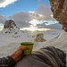 Sonne und Kaffee, perfekt