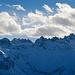 Zackige Gipfel neben dem Pizol