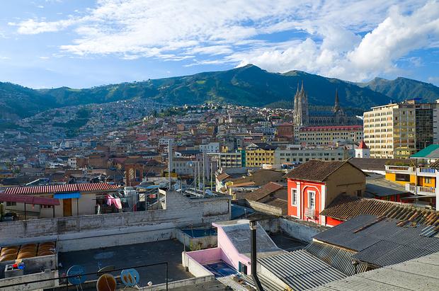 Wieder in Quito