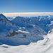 Panoramaaufname in zum Pizzo Rotondo und dem oberen Gerental