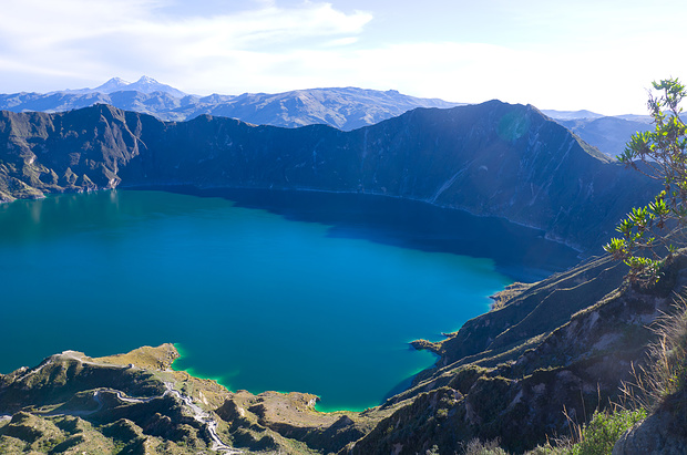 Rechts zeigt sich der höchste Punkt, der Monte Juyende