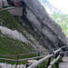 Zurück auf dem Felsenweg Tomlishorn - Kulm.