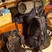 Also ab nach Hause, den großen (25 kg) gegen den kleinen Rucksack (10 kg) tauschen, regenerieren, Rest der Tour planen...
