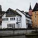 Ortsansicht Waischenfeld- leider hatte die vorzügliche Brauerei Heckel noch nicht geöffnet (während der Woche 16:30 - 20:00 Uhr)