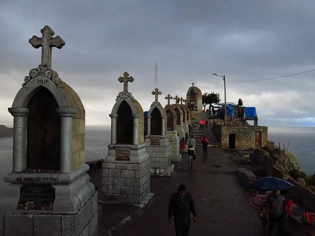 Mystische Abenstimmung auf dem Cerro Calvario