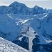Gipfelkreuz Rossstock. Heute mit viel Eis.