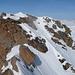Der unberührte Gipfelkopf vom Vorgipfel