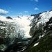 Die Gipfelumrahmung des Gurgler Ferners. Links hinten, die Hohe Wilde (3480m) mimt heute einen ' Vulkan '.