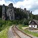 Am nächsten Tag habe ich noch einen Abstecher zur [https://de.wikipedia.org/wiki/Adersbach-Weckelsdorfer_Felsenstadt Adersbach-Weckelsdorfer Felsenstadt] gemacht, einer wirklich sehenswerten Gegend, die in einigen tschechischen Märchenfilmen als Kulisse diente.