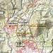 Unsere Route ist rot auf der Karte eingezeichnet. Das rote Kreuz ist die aktuell höchster Stelle (284m) des Montaña de la Estrella. Der ursprüngliche Plan auch noch den Montaña Luceña zu besteigen war nicht möglich, denn dieser Vulkankegel wurde schon vollständig von einer Baufirma abgetragen. Irgendwann wird der Montaña de la Estrella wohl das gleiche Schicksal haben und sein Lavakies wird überall auf den Baustellen Teneriffas verteilt werden - 40m hat er ja jetzt schon an ursprünglicher Höhe verloren!
