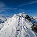 Letztes Stück über den Gipfelgrat