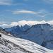 Eindrücklich die Gipfel Punta Pioda, Ago di Sciora und Sciora Dadent