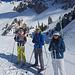 Entrée de la Casse Déserte...je suis le seul encore à skis...la gamelle suivra peu après !