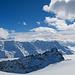 Panorama mit Tennbachhorn und Bietschhorn von der Querung aus aufgenommen