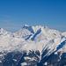 Blick zum Monte Leone, Breithorn und dem Wasenhorn