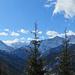 erster Blick zum Karwendel