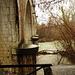 die Brücke über die l'Allondon