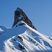 Bietstöck: Wahrzeichen der Bannalp. Der höchste Punkt P.2213m ist weiter hinten verdeckt.