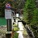 über diese Brücke führt kein Wanderweg