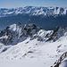 Blick auf das Aufstiegstal und das Rotondo-Massiv.