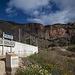 Parkplatz an der Kurve - Blick auf den Paso del Gato