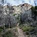 Zustiegsweg zum Paso del Gato